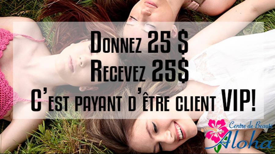 """Avec les produits Monat, référer vos ami(es) chères clientes ou futures clientes VIP c'est Payant! Un crédit d'achat de """"25$ chacune&r ..."""