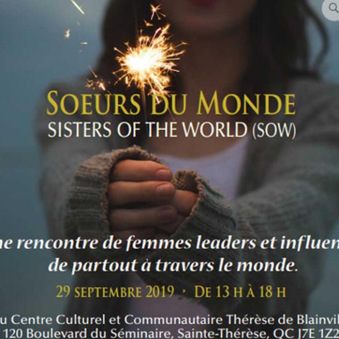 Centre de beauté Aloha participera à l'événement Soeurs du monde le 29 septembre prochain! Une réunion de femmes leaders et influentes de p ...